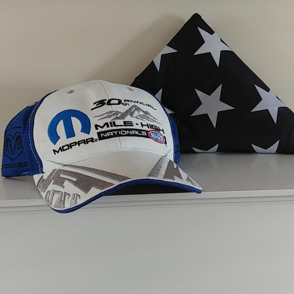 2009 NHRA MOPAR Mile-High Nationals ball cap
